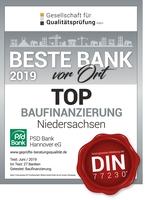 Beste Baufinanzierungsberatung bei der PSD Bank Hannover eG