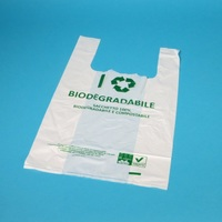 Schluss mit Plastik! Kompostierbare Hemdchentragetaschen für Obst, Gemüse und Imbiss