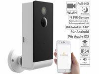 VisorTech Überwachungs-Kamera Funk IPC-490 WLAN