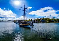 Keimzelle der U.S. Navy: Legendäres Segelschiff ist Alexandrias neueste Touristenattraktion