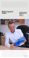 Der Wow-Effekt am Robinspect - Minikomp Bogner Messestand. Industrielle Messtechnik 5.0. Heute: Mobiler Handscanner