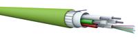 Marktführende Cca- und B2ca-Kabel mit hoher Faseranzahl für In- und Outdoorbereich