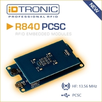 iDTRONICs Embedded HF RFID Reader Serie R840: All-in-One RFID OEM Lösung [NEUER PC/SC READER]