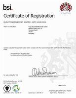 RAPP Kunststofftechnik nach IATF 16949:2016 zertifiziert