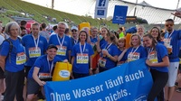 Die Stiftung Menschen für Menschen beim B2Run München