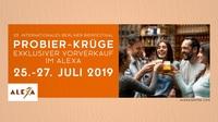 ALEXA stimmt auf Internationales Berliner Bierfestival ein