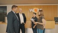 Junior Reporter besuchen die Schatzmeister von Wolf