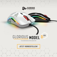 showimage JETZT bei Caseking vorbestellbar: Die Glorious PC Gaming Race Model O- Gaming-Maus