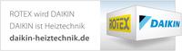 ROTEX wird Daikin: Daikin ist Heiztechnik