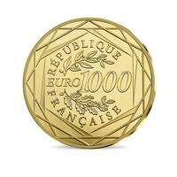 Gold zum Nennwert - offizielle 1000 Euro Goldmünze