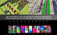 Mit maschinellem Lernen, Digital Twin und Optimierungsalgorithmen signifikante Effizienzsteigerungen in SAP EWM, WM / LES, TM oder ERP realisieren