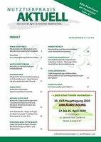NUTZTIERPRAXIS AKTUELL (NPA) Nr. 62 der AVA ab sofort online verfügbar