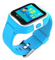 TrackerID Kinder-Smartwatch PW-130.kids mit GPS-Tracking