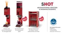 SHOT & SHOT CUP Getränkeerhitzer und -portionierer