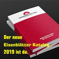 Gerd Eisenblätter GmbH: Der neue Katalog ist da. Oberflächentechnik für Spezialisten.