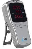 showimage AGT 5in1-Akku-Feinstaub-Messgerät für schädliche Gase