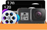 showimage Digiarty veranstaltet eine 4K-Video-bezogene Umfrage in der $400 Kamera Geschenk-Aktion von VideoProc