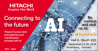 Hitachi auf der Fachpack 2019 - Live Demo KI, AR & Human Acitivity Recognition