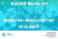 KODE® Brush Up: Experten-Werkstätten