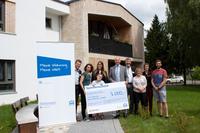GWG-Gruppe spendet 2.000 Euro an Wohnstätten der Lebenshilfe