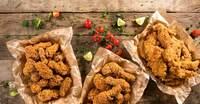 Marinade und Panade für Hähnchen und Fisch