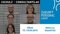 Mit Ben Schulz & Consultants auf der Zukunft Personal Europe