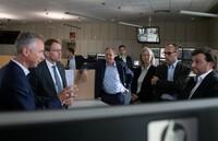 Ministerpräsident Daniel Günther besucht HanseWerk-Gruppe