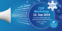 Parallel zur DMEXCO: CDP-Workshop mit Marketing-Ikone David M. Raab
