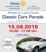 Classic Car Parade  - Alzenau 15. September 2019