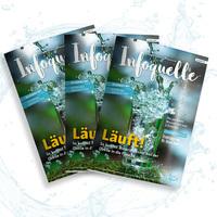 """Neues Mineralwasser-Magazin """"Infoquelle"""" bietet viele spannende Informationen"""