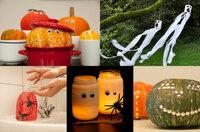 5 Bastelideen für Halloween-Deko