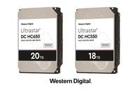 Basierend auf seiner Vorreiterrolle im Bereich Rechenzentren kündigt Western Digital neue 18TB-CMR- und 20TB-SMR-Festplatten an