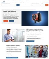KSB optimiert digitales Kundenerlebnis mit neuem Webportal