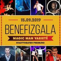 Magic Man zaubert für Karlheinz Böhms Äthiopienhilfe