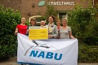 TravelWorks spendet über 1.000 Euro an NABU Münster