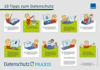 """Poster """"10 Tipps zum Datenschutz"""" - Mitarbeiter einfach sensibilisieren"""