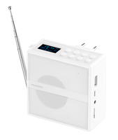 showimage VR-Radio Steckdosenradio MPS-800.bt mit DAB+/FM, BT, USB