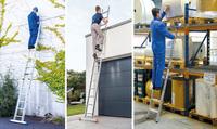 Anlegeleitern - schneller und sicherer Aufstieg zu höher gelegenen Arbeitsplätzen
