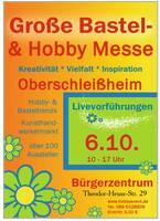 Große Bastel- & Hobby Messe in Oberschleißheim