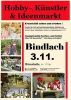 Bindlach Hobby-, Künstler- und Ideenmarkt