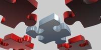 Ilka Szentkiralyi spielt gerne Puzzle am IT-Markt