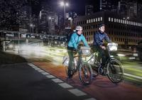 Fahrräder strahlen jetzt mit Kraftfahrzeugen um die Wette