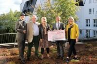 Spendenparlament Reutlingen - Landgraf Immobilienmakler spendet Euro 2500