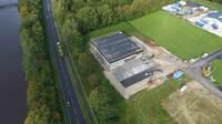 Neubau von schuhplus macht große Fortschritte am c-Port im Saterland