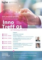"""Einladung zum InnoTreff - """"Innovationsmanagement - heute das Morgen gestalten!"""" am 22.10.2019 in Hanau"""