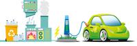 E-Autos und Kraftwerke - ein gutes Gespann