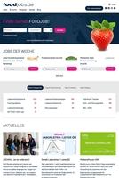 Relaunch von foodjobs.de - die Jobbörse für die Lebensmittelbranche