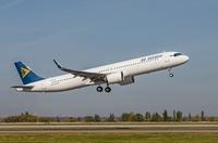 Air Astana präsentiert den ersten A321LR