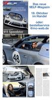 Neues 9ELF-Magazin: Miss Stuttgart im Porsche Speedster