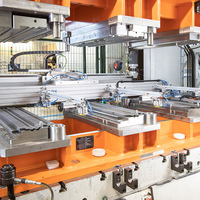 Truck ventilation grilles roll off the production line